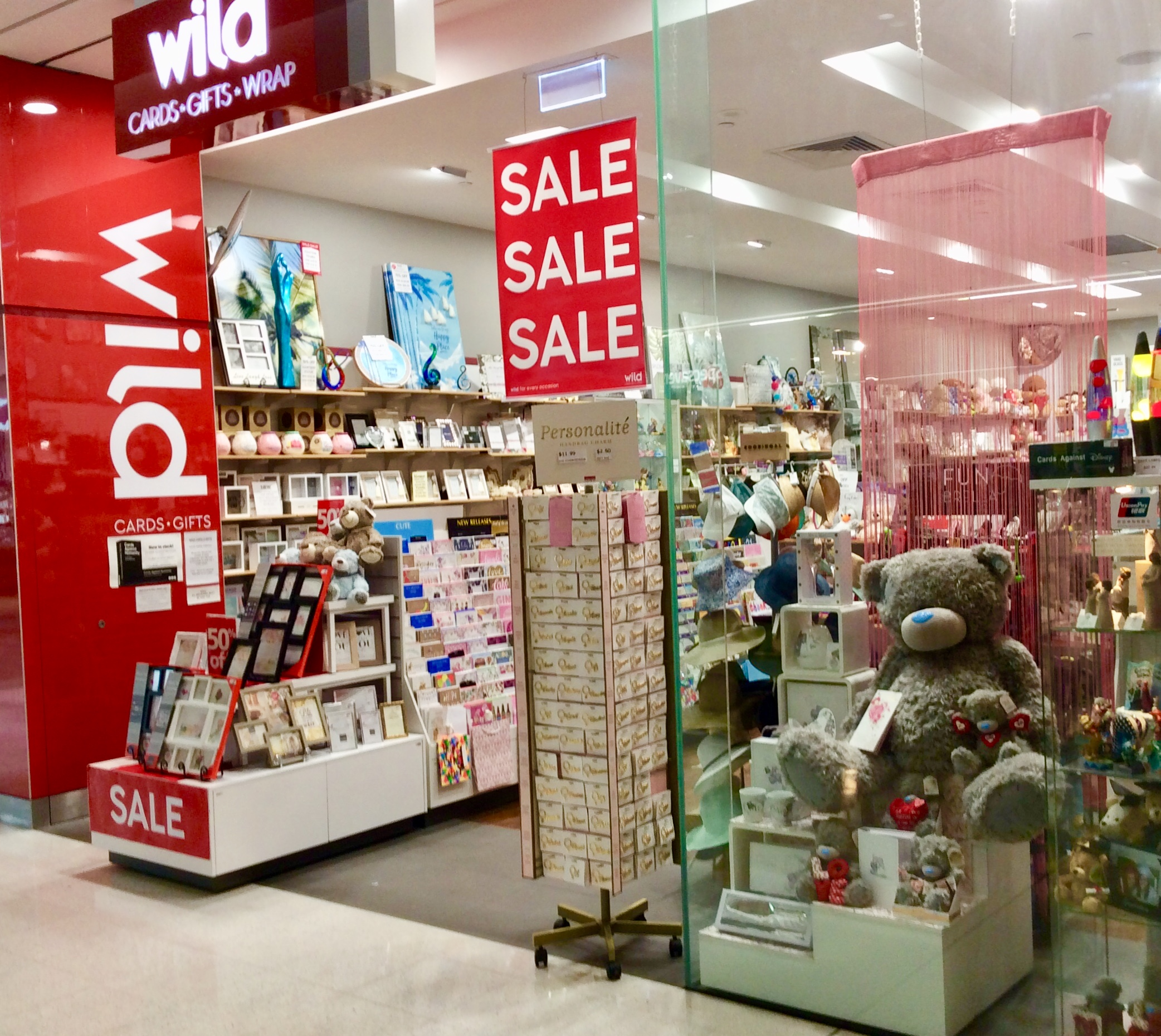 Wild Cards & Gifts | Westfield Garden City Brisbane