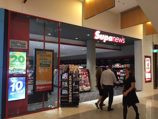 Established retail franchise for sale, Supanews  Westfield Tuggerah