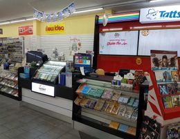 Tatts Newsagent 6 days  shopping square position $646 weekly rent PBA
