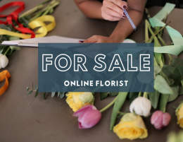 PROFITABLE ONLINE FLORIST WITH GROWING SALES YEAR ON YEAR