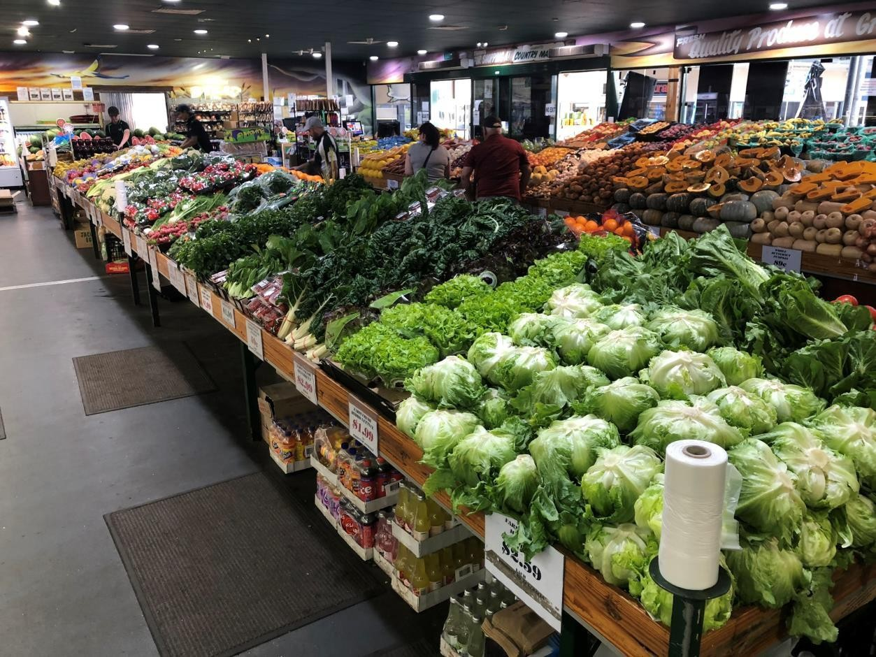 Fruit and Vegetable Shop   $88,000 turnover per week   REDUCED PRICE