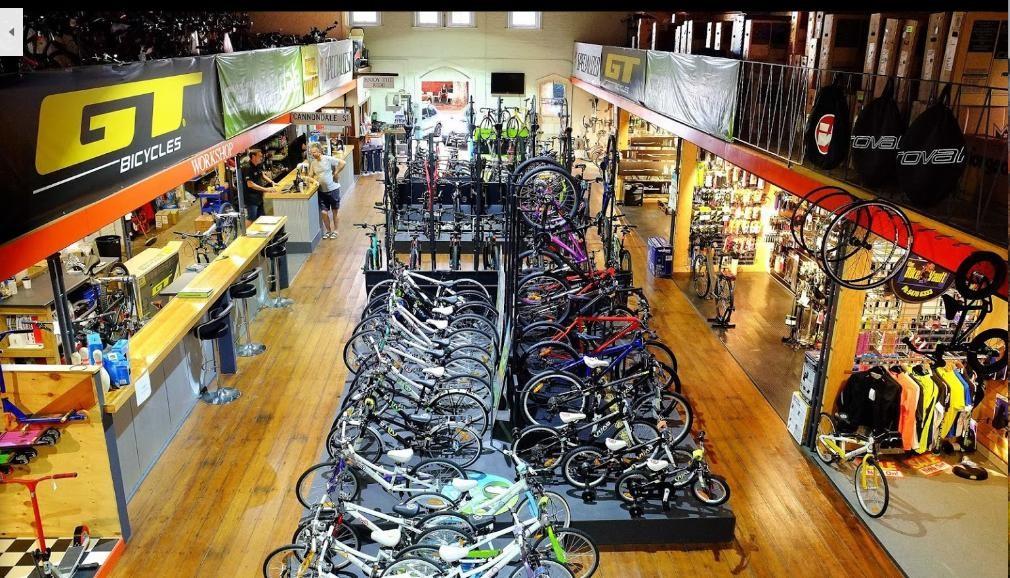 Iconic Bike Retail & Repair Shop - 99% ROI