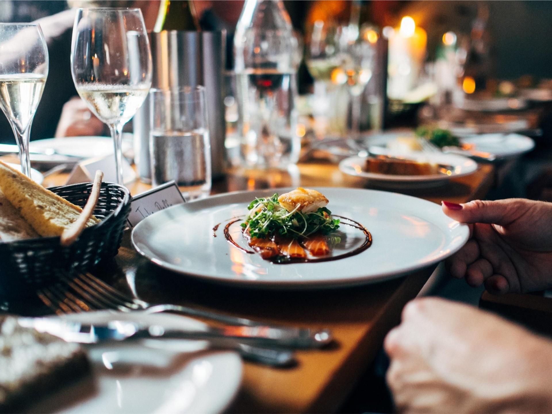 Fine Dining Restaurant with on Premises liquor license for sale - Sutherland Shi