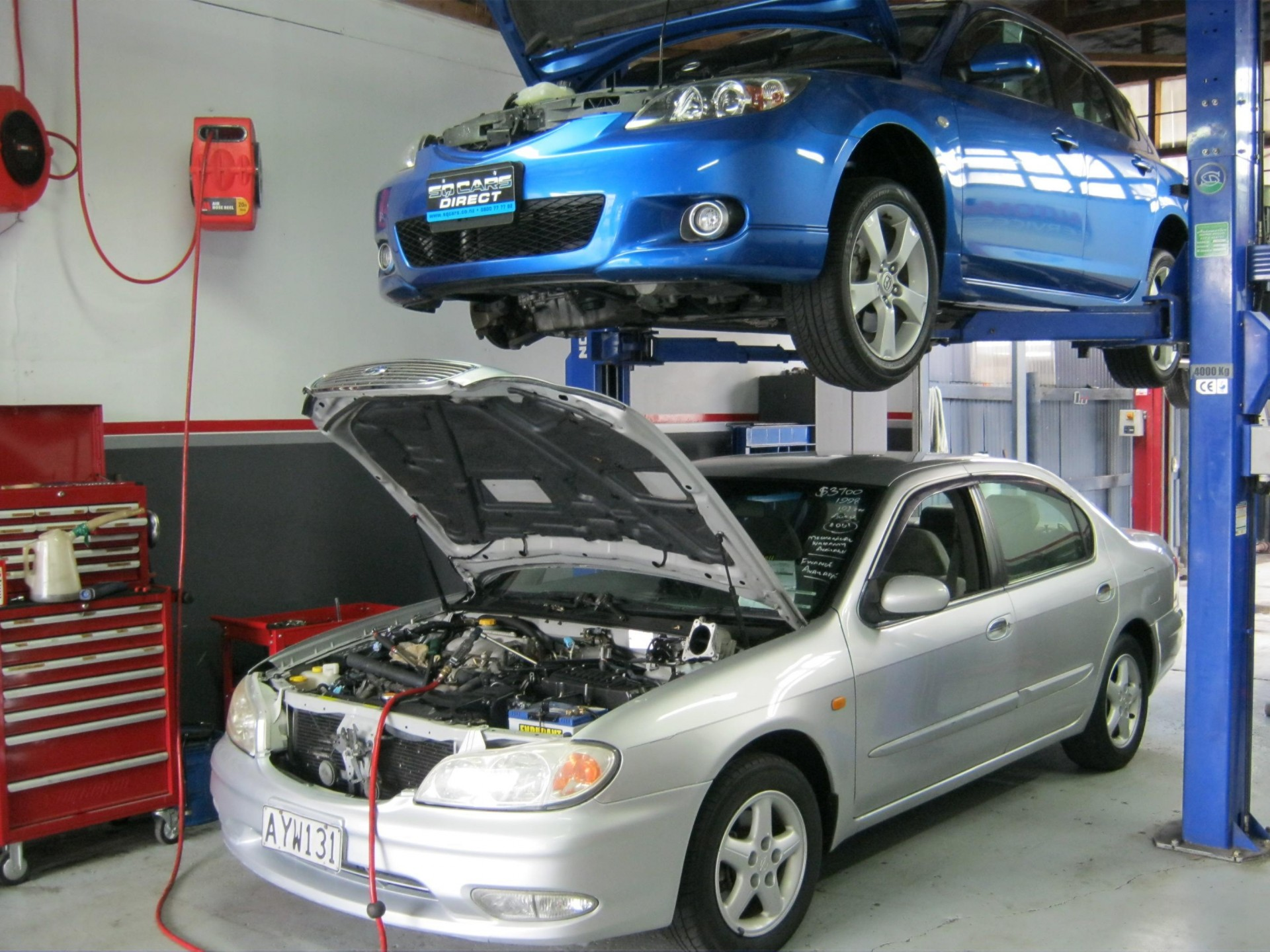Auto Mechanical Workshop including Freehold Commercial Property - Sutherland Shi