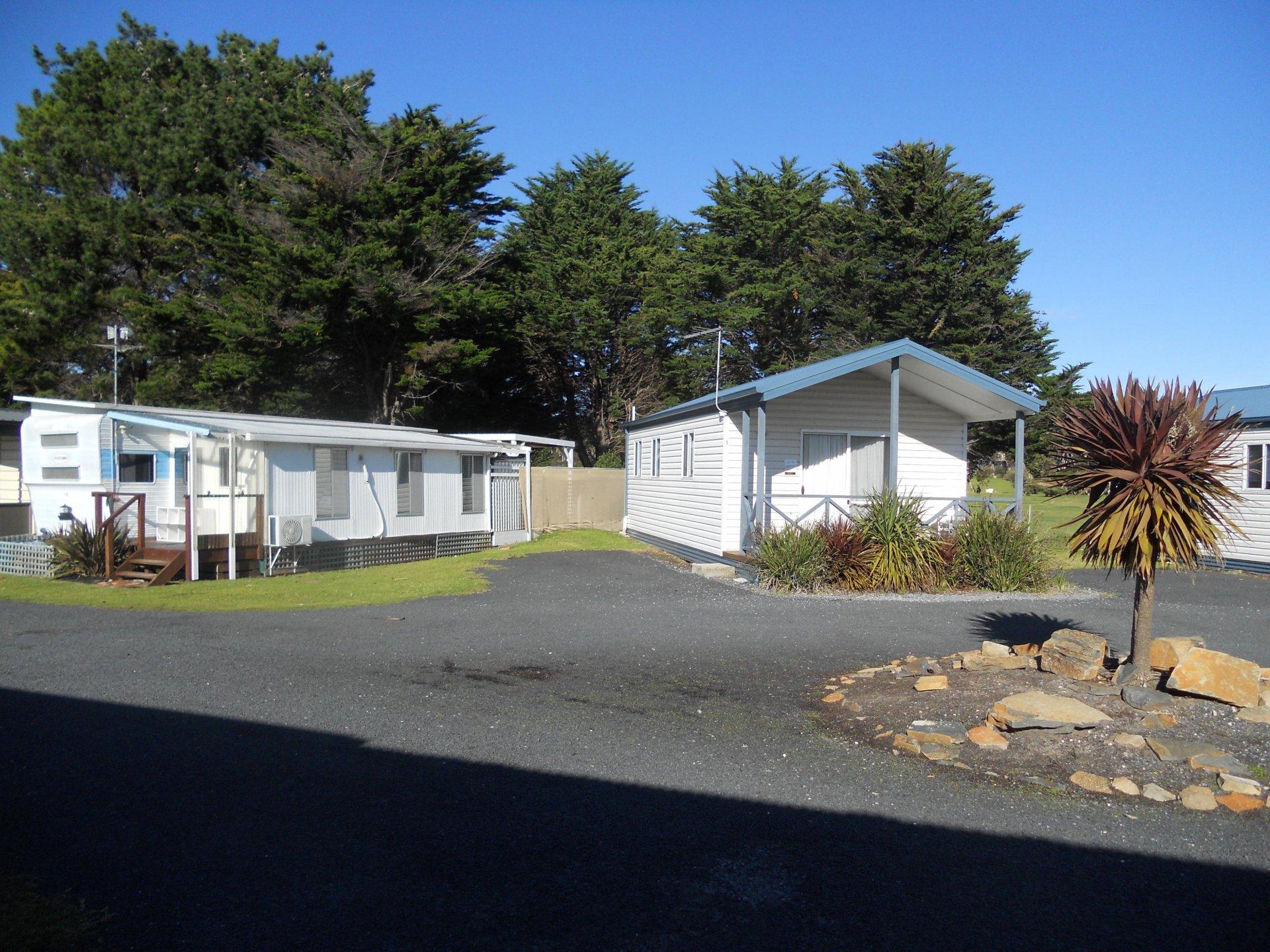Best Value Tasmanian L/H Caravan Park O/O $495,000,4 f/hold cabins, average 2 yr
