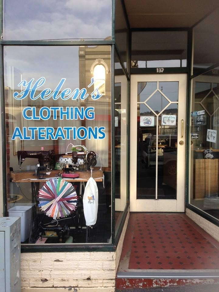 Helen's Clothing Alterations,Launceston's Premier Clothing Alterations Business