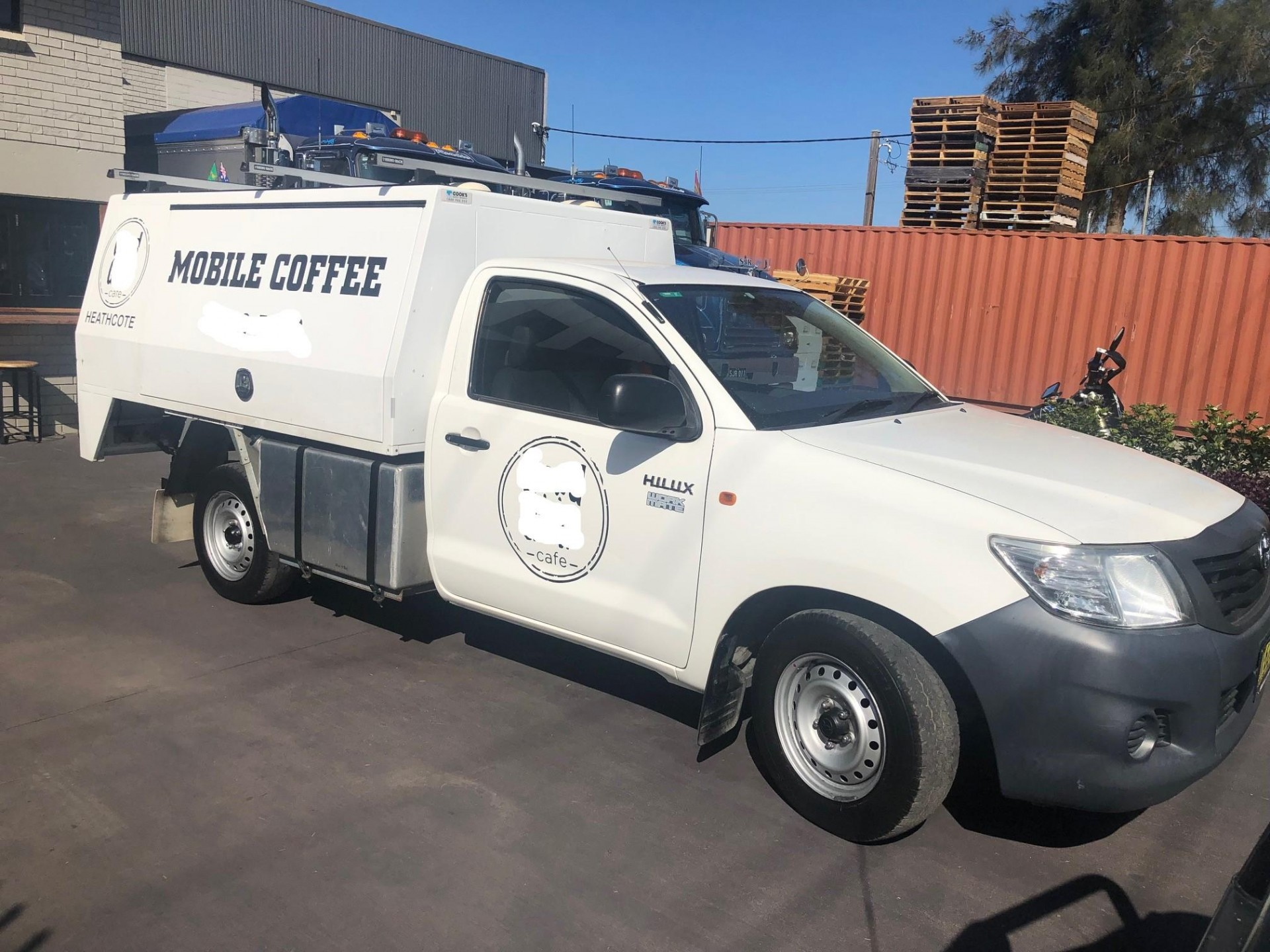 Mobile coffee truck for sale - Well established coffee run + NRL game day contra