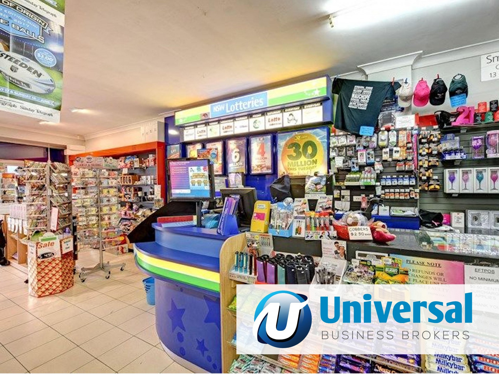 Newsagency for Sale in the Sutherland Shire including the freehold commercial pr