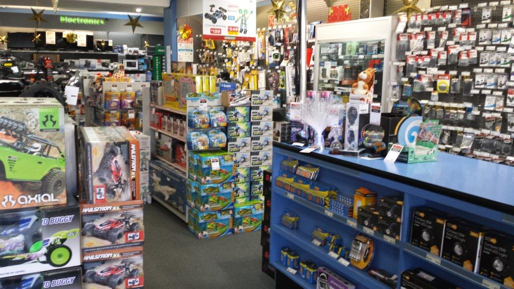 Consumer Electronics and Hobbyist Retail Store