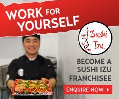 Japanese Takeaway Food | Sushi Izu - Gungahlin