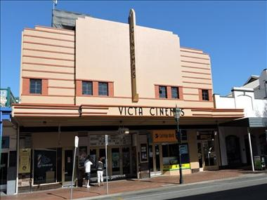 Iconic Art Deco Twin Cinema