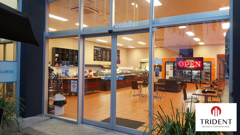Industrial Cafe - Western Suburbs - Ticks all the boxes