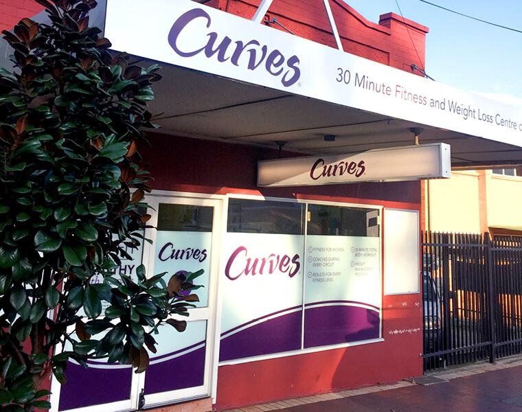 Curves Bulli – Prime location!