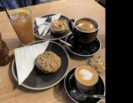 Busy cafe in Canberra Westfield