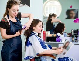 An established, premium unisex, luxury hair salon