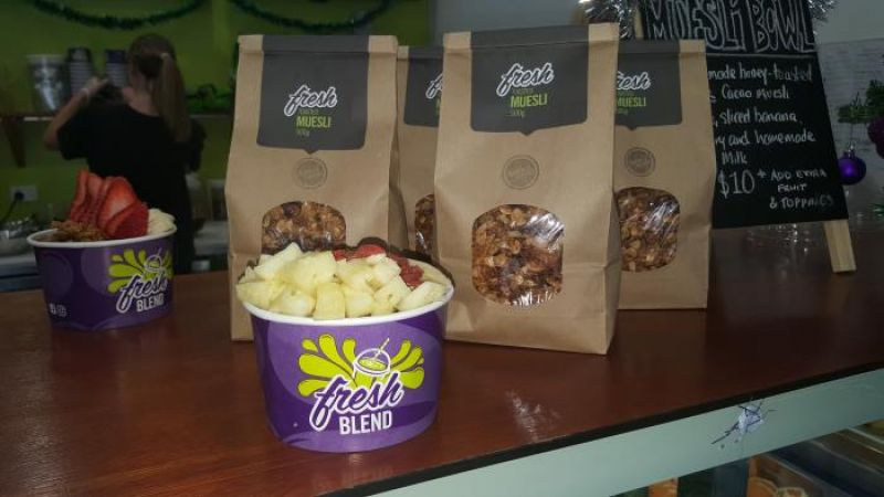 Fresh Blend superfood smoothies, salads, acai bowls franchise opportunity great