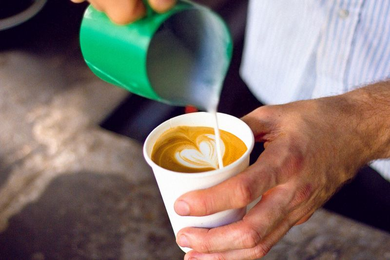 $17k sales per week. Rent only $370 per week. 55kg coffee. Highly profitable caf
