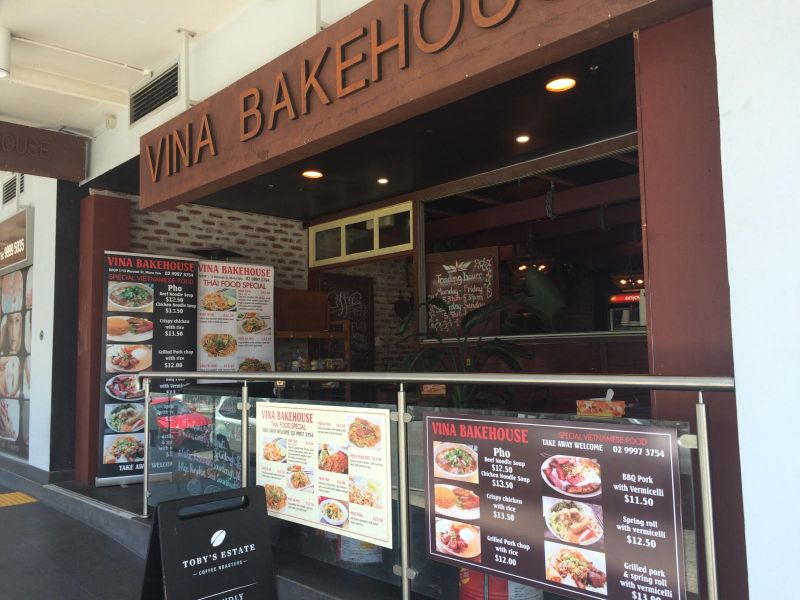 Vina Bakehouse Northern Beaches for sale under management