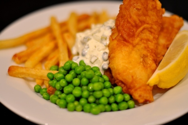 FISH & CHIPS -- SURREY HILL -- #4208876
