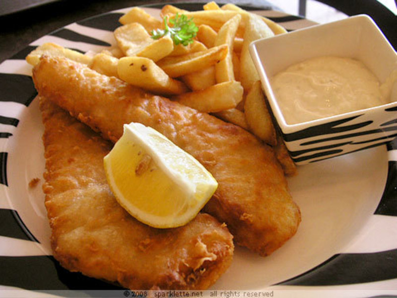 FISH & CHIPS -- DONCASTER  -- #4187667