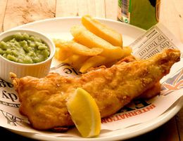 FISH & CHIPS -- EAST MELBOURNE -- #6342738