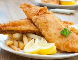 FISH & CHIPS -- NORTH EASTERN SUBURB -- #6443003