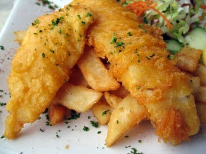 FISH & CHIPS -- SOUTH GEELONG  -- #4350816