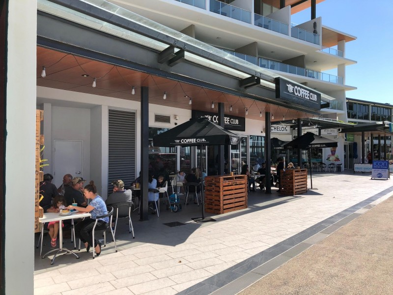 The Coffee Club - On the Esplanade Yeppoon Location Business For Sale Ref# 3612