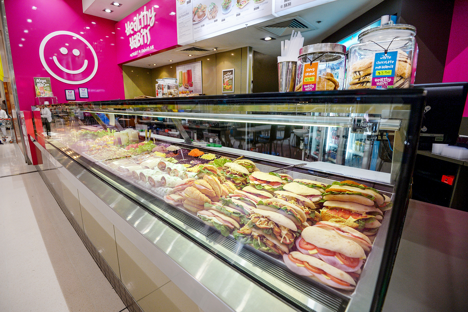 TAKE A WAY SANDWICH SHOP - HEALTHY HABITS - GRAFTON SHOPPING WORLD Reduced PRICE