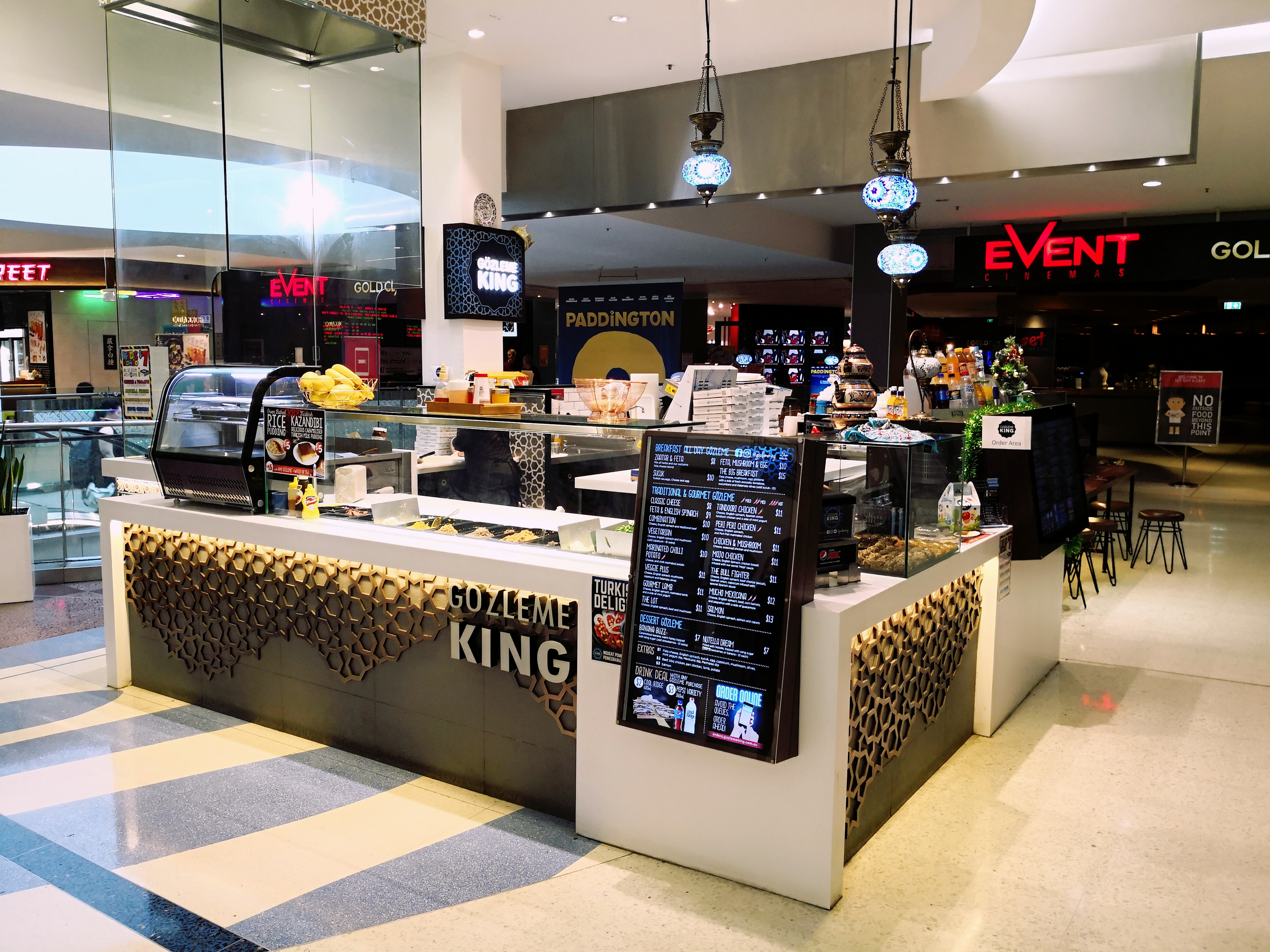 Healthy fast food : Turkish Street Food  Macquarie Center North Ryde