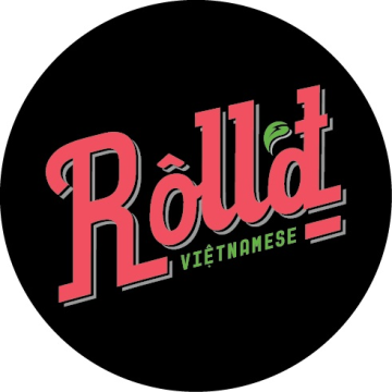 Roll'd Vietnamese Food Restaurant Logo