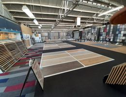 WELL ESTABLISHED FLOORING BUSINESS - MASSIVE SHOWROOM AND WAREHOUSE -