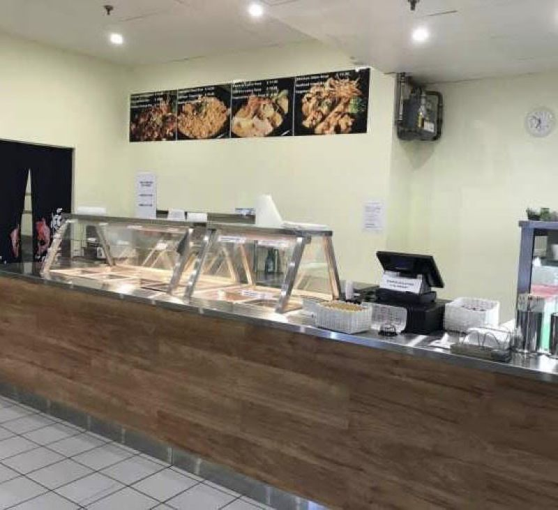 Sushi and hot meal takeaway business for sale!