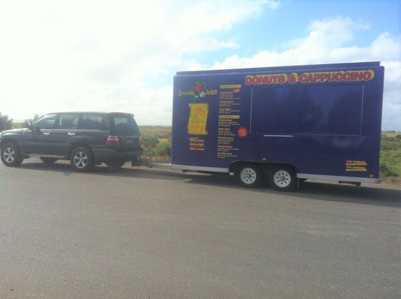 TWO IDENTICAL CATERING VANS FOR SALE - CHOOSE WHAT YOU EARN