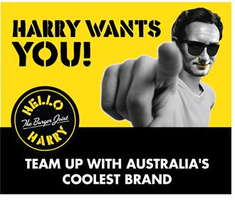 Hello Harry The Burger Joint - DITCH THE BOSS - Locations AVAILABLE NOW!