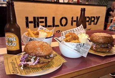 Amazing Burger Beer Joint - Hello Harry Franchise Available Now! Burgers & Beers