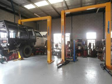 4WD Mechanical Repair Specialist