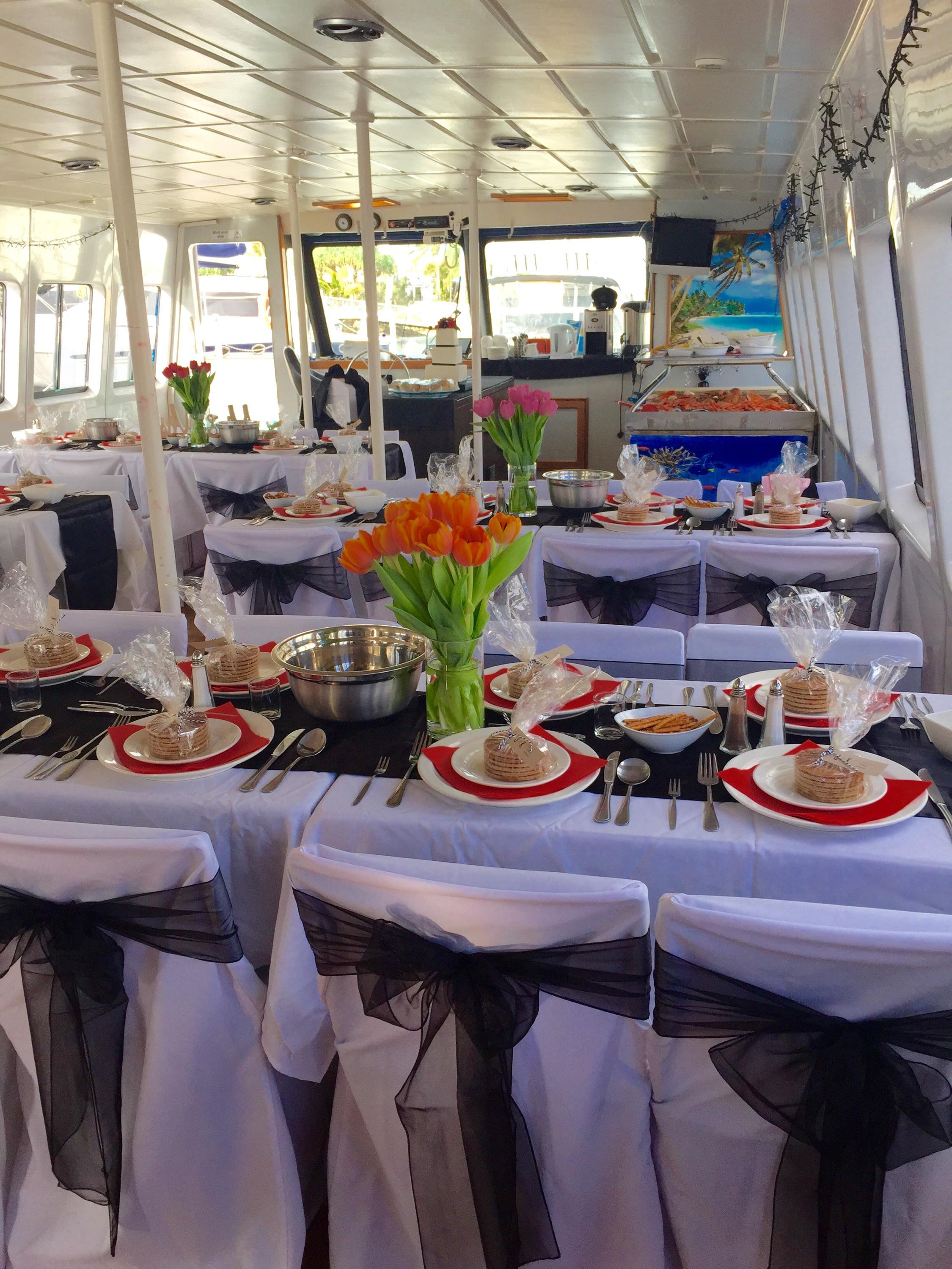 Income Producing Power Cat – Cruising Restaurant for Sale Sunshine Coast
