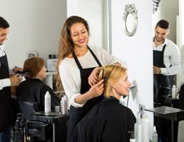 Fully managed franchise hair salon in busy Wollongong Shopping Centre for sale