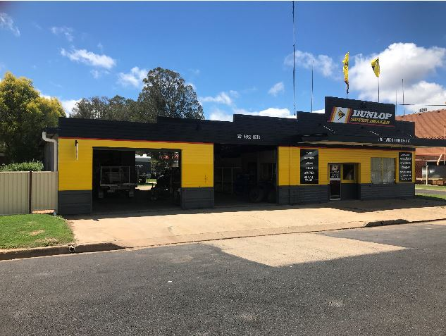 Dunlop Tyre and Battery Retail Business for Sale / Inglewood in Queensland