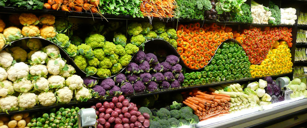 Retail fruit and vegetable market in Sydney, Australia
