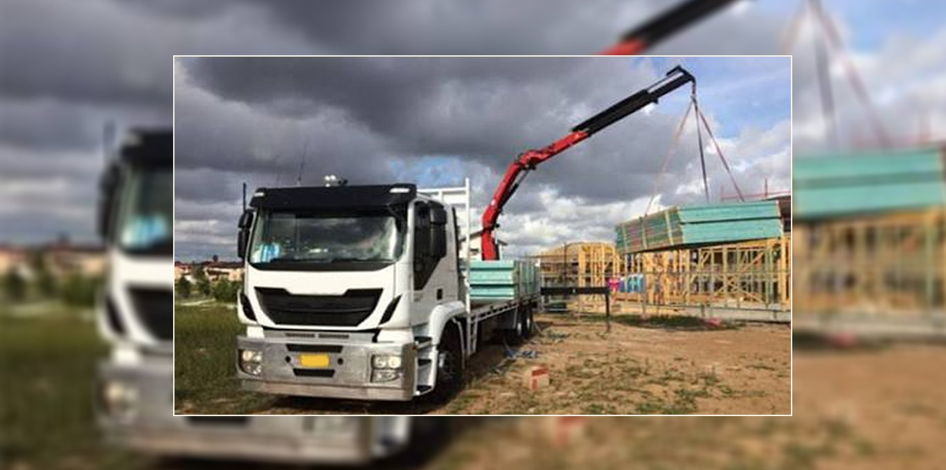 Thriving Crane Truck Business For Sale
