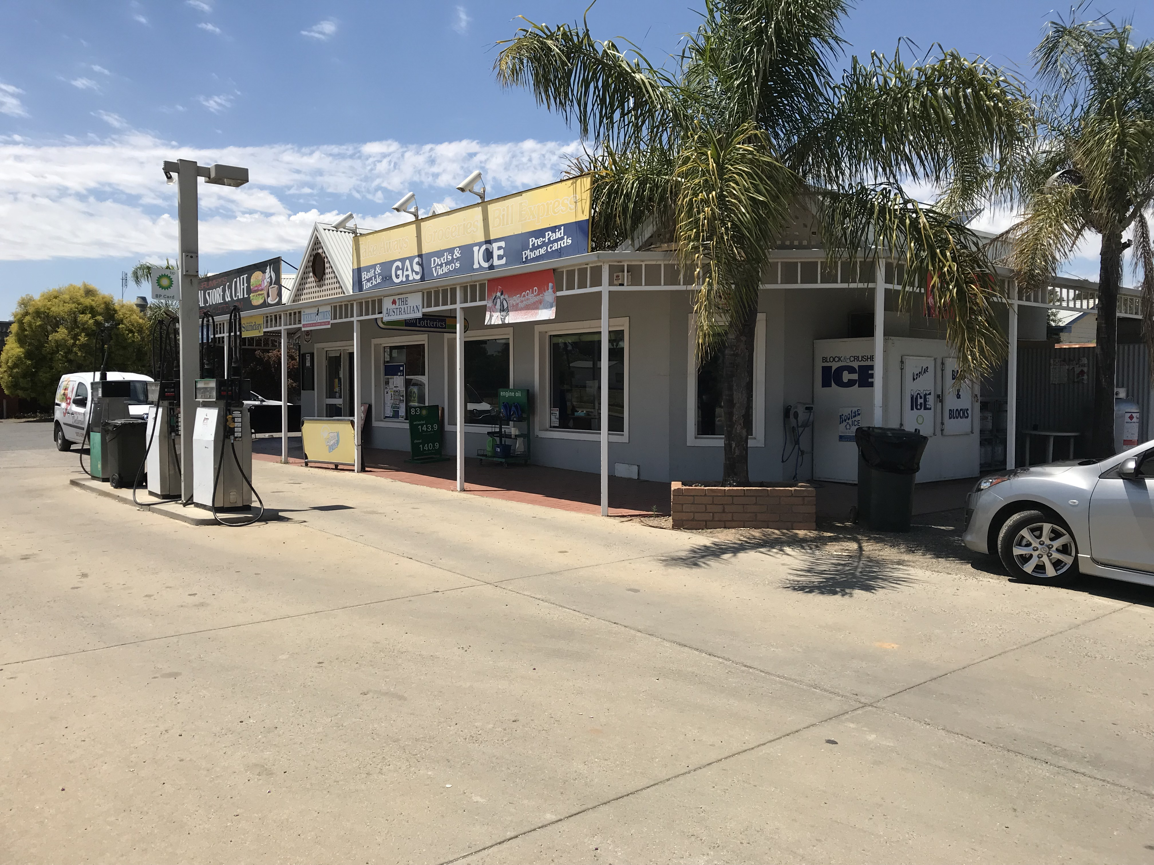 TattsLotto & Newsagency with Local Service Station- For Sale in Border Towns