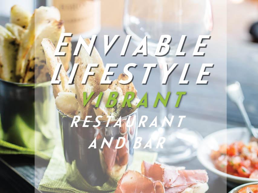 Vibrant Restaurant and Bar | Enviable Lifestyle