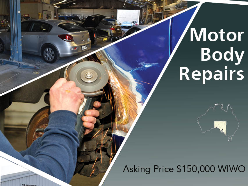 N8/086 SMASH REPAIRS  - price reduced to sell