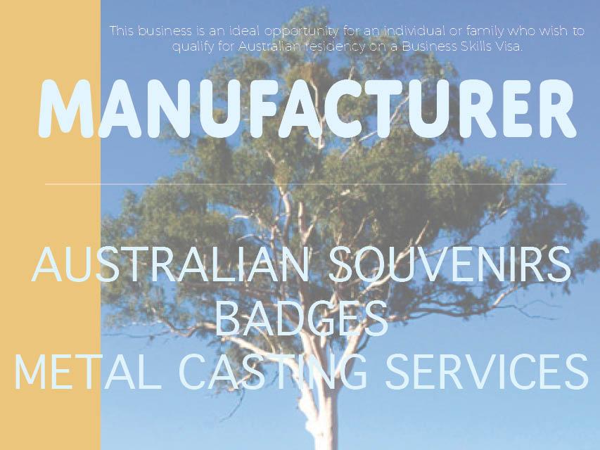 N8/109 Manufacturer Australian Souvenirs