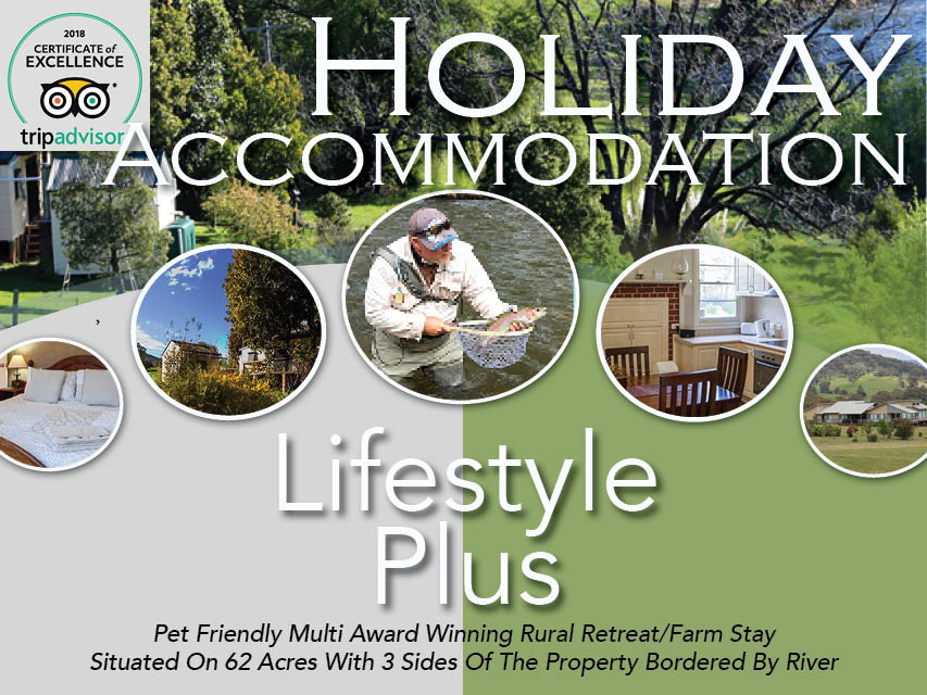 N8/076 Luxury Holiday Accommodation - Award Winning Rural Retreat/Farm Stay