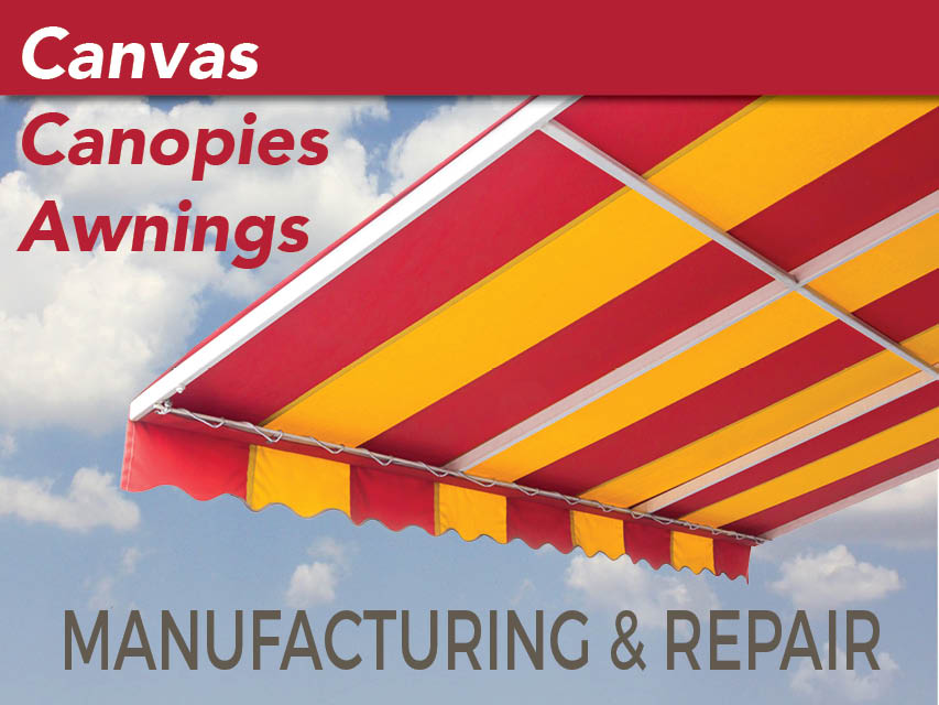 N8/111 Manufacturing & Repair of Canvas Canopies & Awnings