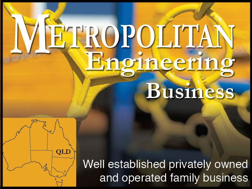 N8/101 Metropolitan Engineering Business