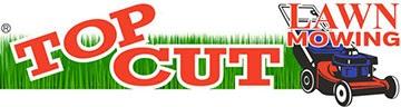 Top Cut Lawn Mowing Logo